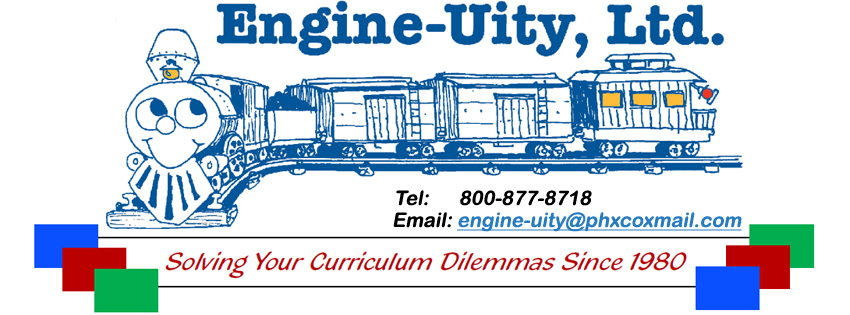 Engine-Uity, Ltd. - Engine-Uity specializes in differentiated resources, keyed to Bloom's Taxonomy of higher level thinking skills that lead to independent studies.